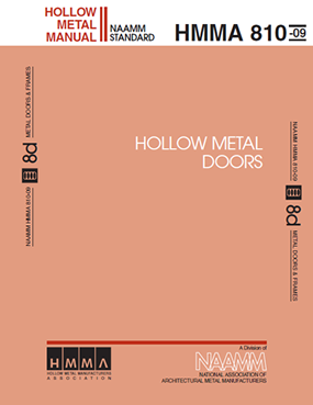 Hollow Metal Manufacturers Association, HMMA 810-09 Hollow Metal Doors