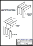 Continuously Welded PDF provided by JR Metal Frames.