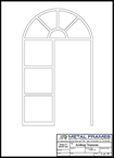 Arch Top Transom PDF provided by JR Metal Frames.