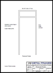 Transom Frame PDF provided by JR Metal Frames.