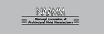 National Association of Architectural Metal Manufacturers (NAAMM).
