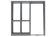 Standard Hollow Metla Door Frames by JR Metal Frames.